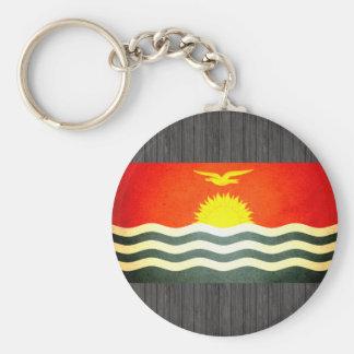 Sun kissed Kiribati Flag Key Chains