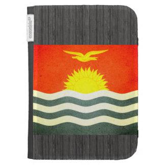 Sun kissed Kiribati Flag Kindle 3G Cover