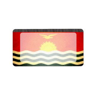Sun kissed Kiribati Flag Labels