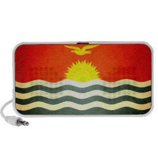 Sun kissed Kiribati Flag Portable Speaker