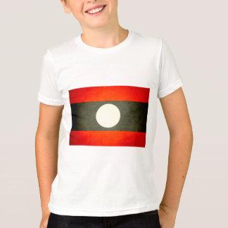 Sun kissed Laos Flag T-Shirt