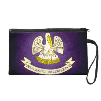 Sun kissed Louisiana Flag Wristlets