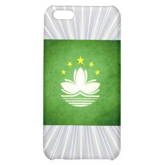 Sun kissed Macau Flag Cover For iPhone 5C