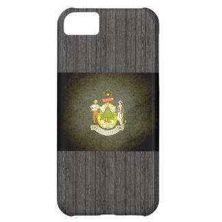 Sun kissed Maine Flag Cover For iPhone 5C
