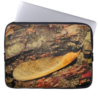 Sun Kissed Maple Tree Seedling Laptop Sleeve