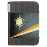 Sun kissed Marshall Islands Flag Kindle Covers
