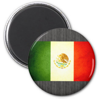Sun kissed Mexico Flag Refrigerator Magnets