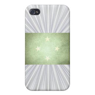 Sun kissed Micronesia Flag iPhone 4/4S Case
