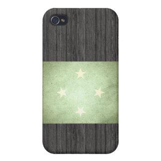 Sun kissed Micronesia Flag iPhone 4 Covers