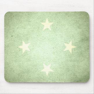 Sun kissed Micronesia Flag Mouse Pad