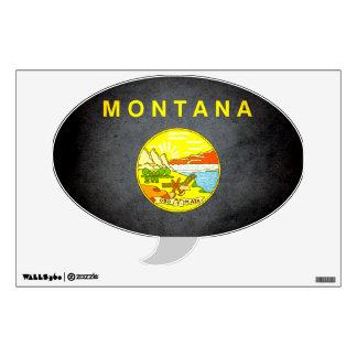 Sun kissed Montana Flag Room Graphic