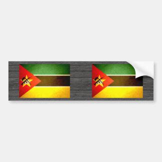 Sun kissed Mozambique Flag Bumper Sticker