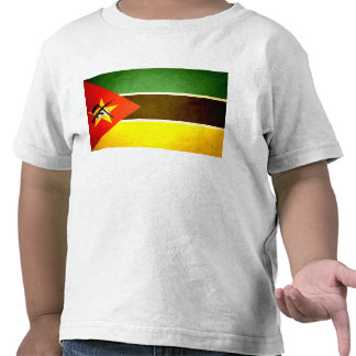 Sun kissed Mozambique Flag T Shirt