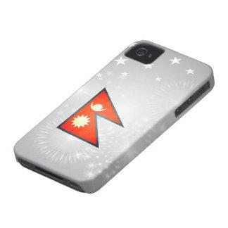Sun kissed Nepal Flag Blackberry Bold Cover