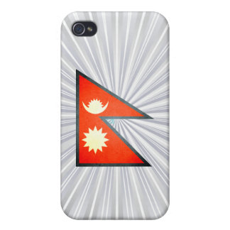 Sun kissed Nepal Flag iPhone 4/4S Cover