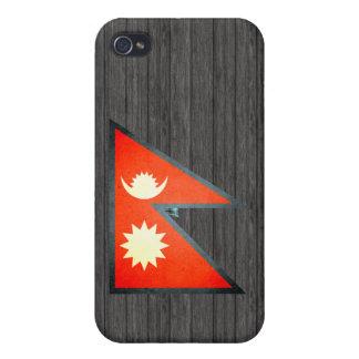 Sun kissed Nepal Flag iPhone 4 Case