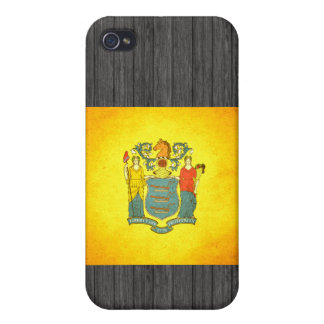 Sun kissed New Jersey Flag iPhone 4 Case