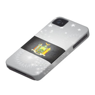 Sun kissed New York Flag iPhone 4 Cases