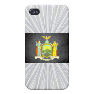 Sun kissed New York Flag iPhone 4/4S Cover