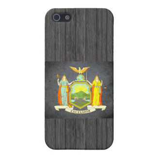 Sun kissed New York Flag iPhone 5 Case