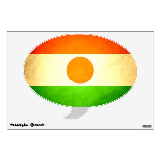 Sun kissed Niger Flag Wall Decal