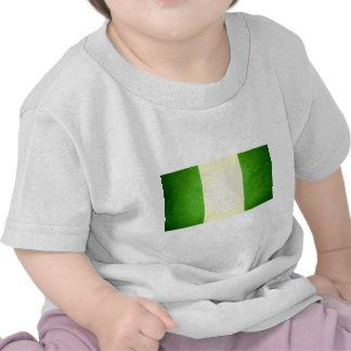 Sun kissed Nigeria Flag Tee Shirts