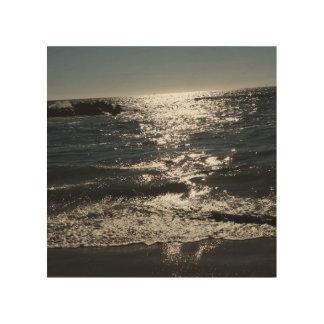 SUN KISSED OCEAN WOOD WALL DECOR