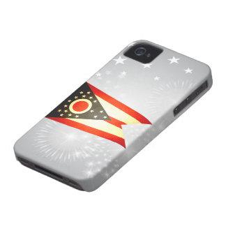 Sun kissed Ohio Flag iPhone 4 Case-Mate Case