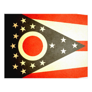 Sun kissed Ohio Flag Full Color Flyer
