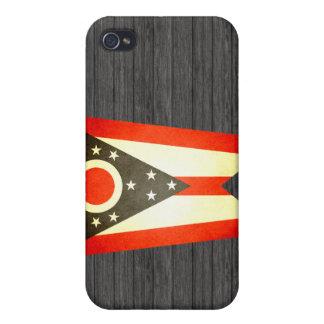 Sun kissed Ohio Flag iPhone 4/4S Covers