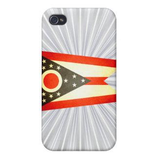 Sun kissed Ohio Flag iPhone 4/4S Cover