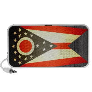 Sun kissed Ohio Flag iPod Speakers