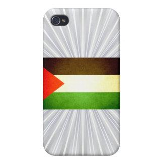 Sun kissed Palestine Flag iPhone 4/4S Case