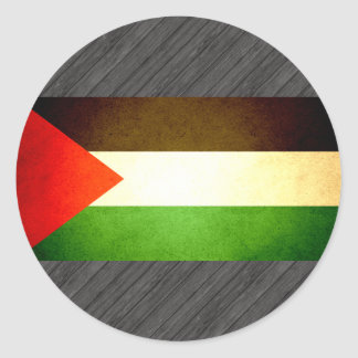 Sun kissed Palestine Flag Stickers