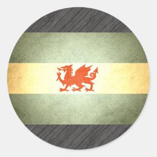 Sun kissed Patagonia Flag Stickers