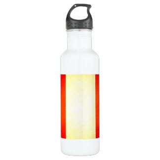 Sun kissed Peru Flag Stainless Steel Water Bottle