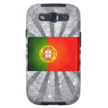 Sun kissed Portugal Flag Samsung Galaxy S3 Cases