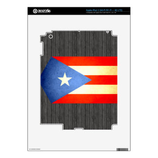 Sun kissed Puerto Rico Flag Skin For iPad 3