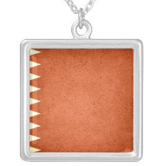 Sun kissed Qatar Flag Necklaces