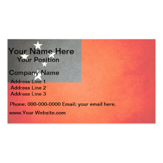 Sun kissed Samoa Flag Double-Sided Standard Business Cards (Pack Of 100)