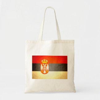 Sun kissed Serbia Flag Bags