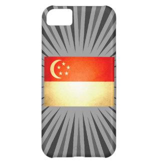 Sun kissed Singapore Flag Case For iPhone 5C
