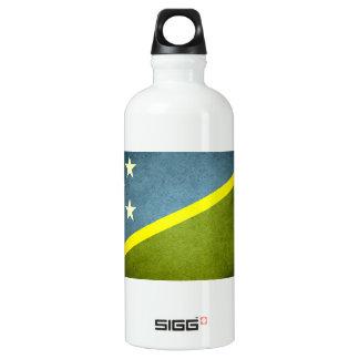 Sun kissed Solomon Islands Flag Water Bottle