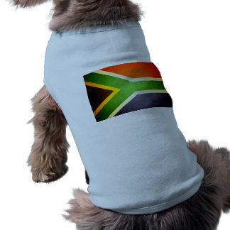 Sun kissed South Africa Flag Pet Clothing