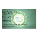 Sun kissed South Dakota Flag Double-Sided Standard Business Cards (Pack Of 100)