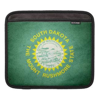 Sun kissed South Dakota Flag iPad Sleeve