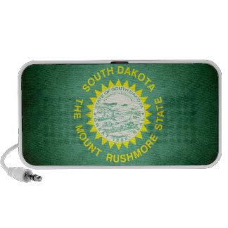 Sun kissed South Dakota Flag Speaker System