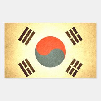 Sun kissed South Korea Flag Stickers