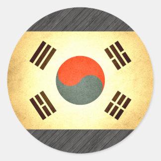 Sun kissed South Korea Flag Sticker