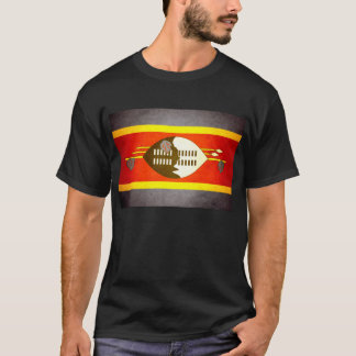 Sun kissed Swaziland Flag T-Shirt